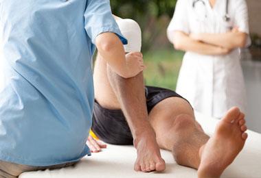 knee rehab hospitaly rome UCBM